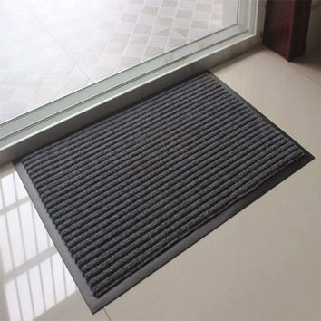 Hot Doormat Thick Door Mats Home Stripe Area Rug Room Balcony Non-Slip Carpet Kitchen Bathroom Entrance Mats