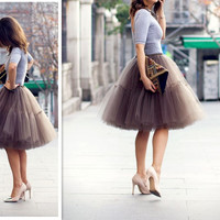 Women Skirt, Tulle Skirt For Women