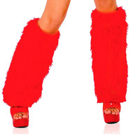 Furry Leg Warmer | GoGo Accessories | Rave Clothing
