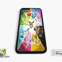 Pokemon All Characters iPhone Case 4, 4s, 5, 5s, 5c, 6 and 6 plus by Avallen