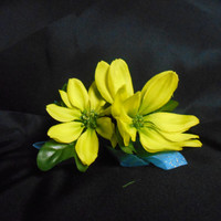 Green Flower Hair Fascinator