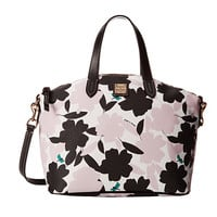Dooney & Bourke Flora Satchel Pink w/ Black Trim - Zappos.com Free Shipping BOTH Ways