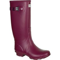 HUNTER HUNTRESS LOGANBERRY PURPLE TALL EXTENDED CALF WELLINGTON BOOT Wide Welly