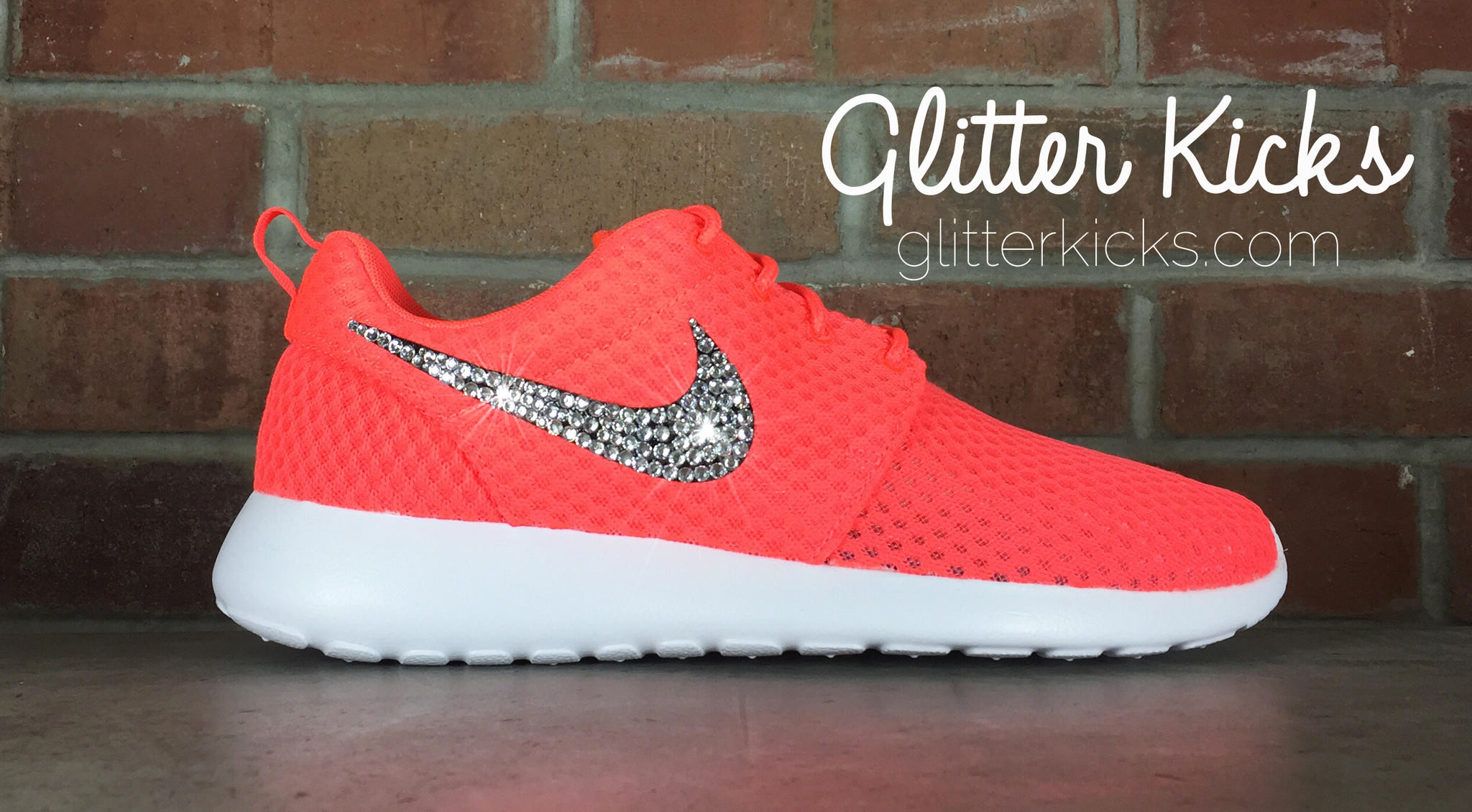 Nike Roshe One Customized by Glitter from Glitter Kicks 817f6d55b3