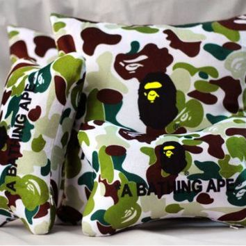 DCK4S2 Cars Camouflage Stylish Neck-protected Strong Character Cushion [103809974284]