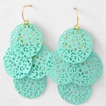 Mckenzie Mint Earrings