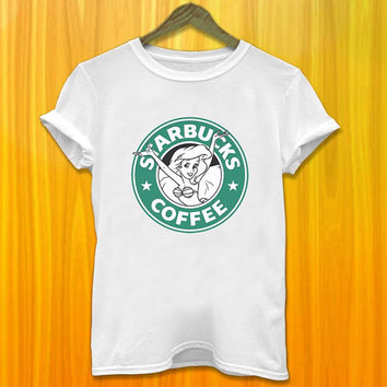 Ariel The Little Mermaid Has the Starbucks Coffee Logo Funny Tshirt Disney Little Mermaid Coffee Tshirt