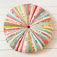 Large Whimsical Floor Cushion Pouffe Pillow by BigBirdsBoutique