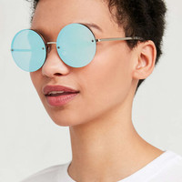 Mermaid Round Sunglasses - Urban Outfitters