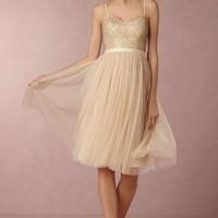 Coppelia  Wedding Guest  Wedding Guest Dress by Anthropologie x BHLDN in Dusty Pink Size: