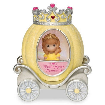 Precious Moments Pretty as a Princess Faith Princess Carriage Light Up Figurine
