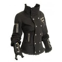 Onyx Jacket (Jackets   Vests) at AYYA - Custom ninja tabi boots, hand-made leather bags, and custom garments