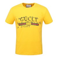 One-nice™ Gucci Women Men Fashion Print Sport Shirt Top Tee