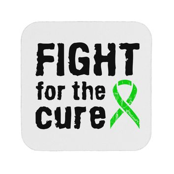 Fight for the Cure - Lime Green Ribbon Lyme Disease Coaster