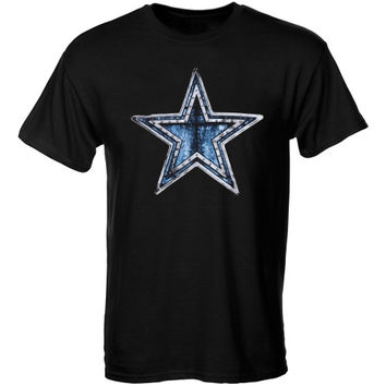 Dallas Cowboys Steampunk Star T-Shirt – Black