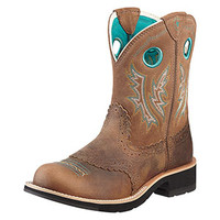 Ariat Fatbaby Sheila Cowgirl Women's Boots - Powder Blue