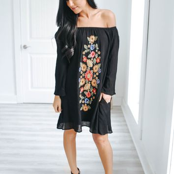 Perfect Daydream Dress - Black
