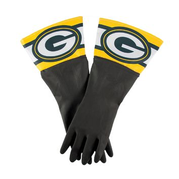 Green Bay Packers NFL Dish Gloves