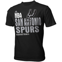 adidas Youth San Antonio Spurs Stacked Extreme Short-Sleeve T-Shirt