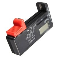 ELEGIANT BT-168D Universal Button Battery Power Checker Tester For C D AA AAA 9V 1.5V Button Cell