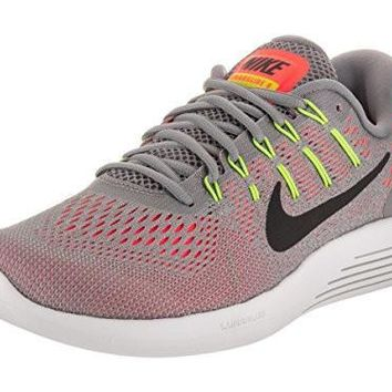 Nike Men's Lunarglide 8 Dust/Black/Hyper Orange Running Shoe 9 Men US