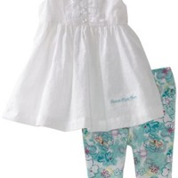 Calvin Klein Baby-Girls Infant Ck Top and Print Pant
