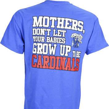 University of Kentucky UK Mothers on a Blue Short Sleeve T Shirt