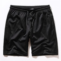 Casual Sports Permeable Couple Jogging Shorts [10722674179]