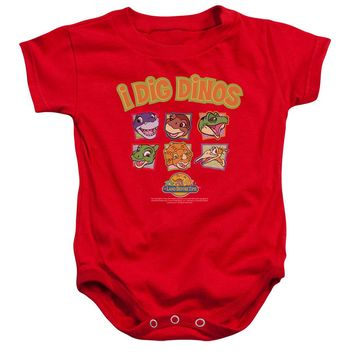 Land Before Time - I Dig Dinos Infant Snapsuit Officially Licensed Baby Clothing