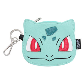 Loungefly Pokemon Bulbasaur Face Coin Purse
