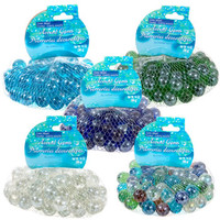 Bulk Round Glass Floral Marbles, 14-oz. Bags at DollarTree.com