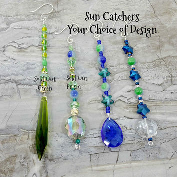 Suncatcher, Beaded Sun catcher, Wire Sun catcher, Christmas Ornament, Beaded Wire Icicle, Fan Pull, Colorful Ornament, Gift Idea