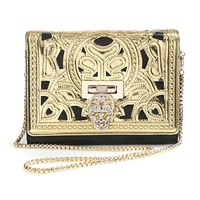 Cutout Skull Decoration Shoulder Bag - OASAP.com