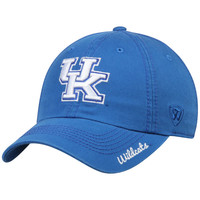 Women's Top of the World Royal Kentucky Wildcats Crew Adjustable Hat