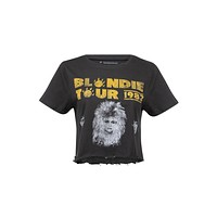 1982 Tour Cropped Blondie Band Shirt by Prince Peter Collection