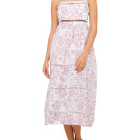Roza Ladder Strap Dress | David Jones