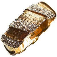One Kings Lane - Style Guide - Ciner Rhinestone Cuff