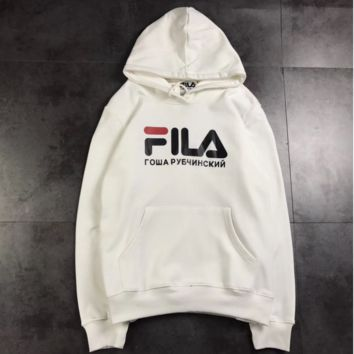 FILA Hooded Hoodies pullover