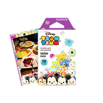 Fujifilm Instax Mini Film Disney Tsum Tsum Purple Polaroid Instant Photo