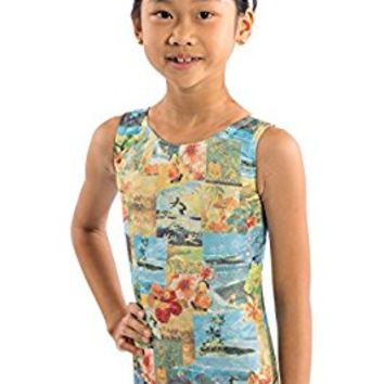 Lizatards Leotard Postcard Tank