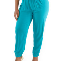 Plus-Size Lounge Pants - Rainbow