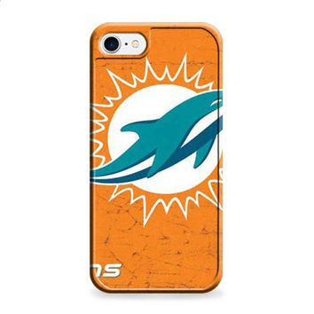 Miami Dolphins rough orange iPhone 6 | iPhone 6S case