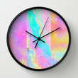 Get Away With It Wall Clock by Danny Ivan