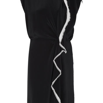 3.1 Phillip Lim - Ruffled silk-crepe dress