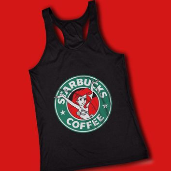 Ariel Starbucks Women'S Tank Top