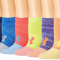 Under Armour Women's Essential Twist No Show Socks (6 Pack)
