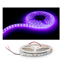 Blacklight UV 395nm LED Flexible Strip - 5m 16.4ft for Indoor/Outdoor
