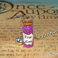 True Love Potion and a Heart Charm, Once Upon a Time, ABC Television Show, by Fandom Magic