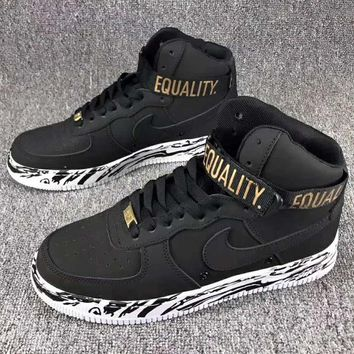 Tagre™ Nike air Force 1 MID 07 Men Fashion Casual Sneakers Running Sports Shoes Black G-CSXY