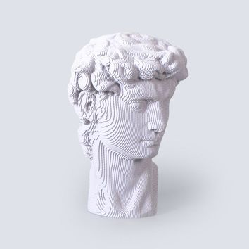 Statue of David Fun 3D Puzzle DIY Corrugated Paper Model Kits